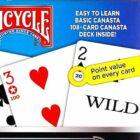 Bicycle Canasta Games - Kanaszta kártya készlet, 2 csomagos