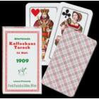 """Nagyméretű Tarokk kártya (""""Kaffeehaus Tarock""""), 6 csomag"""