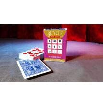 Bicycle Invisible Deck kártya - kék, 1 csomag