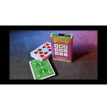 Bicycle Invisible Deck kártya - zöld, 1 csomag