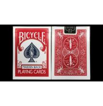 Bicycle Maiden Back kártya - piros, 1 csomag