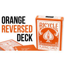 Bicycle Orange Deck, Reversed Back kártya