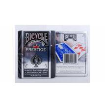 Bicycle Prestige Standard, 100% plasztik póker kártya (USA kiadás)