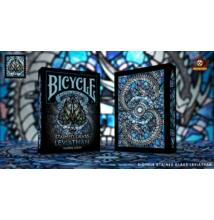 Bicycle Stained Glass Leviathan kártya, 1 csomag