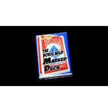 The Boris Wild Marked Deck kártya - piros, 1 csomag