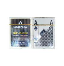 COPAG plasztik póker kártya, 4 Jumbo index, 1 csomag
