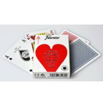 Fournier 2500 - 100% plasztik póker kártya, normál index, 1 csomag