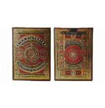 High Victorian kártya (theory11) - Piros, 1 csomag