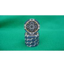 HungaroLinea kerámia póker zseton - 100/fekete, 1 db (aligned)