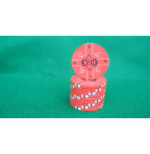 HungaroLinea kerámia póker zseton - 5/lazac-szín, 1 db (aligned)