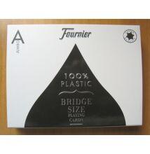 Fournier 2525 - 100% plasztik bridzs kártya, dupla csomag