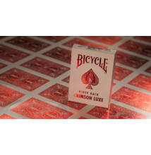 Bicycle Rider Back Crimson Luxe (MetalLuxe) kártya, 1 csomag