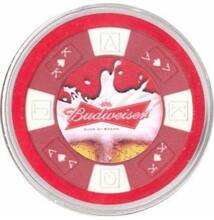Budweiser Beer Card Guard (kártyaőr)