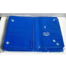 Puha bridzstok készlet, 8 db-os, előre számozott - kék