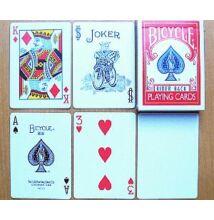 Bicycle 808 Rider Back póker kártya, white back (fehér hátlapú), 1 csomag