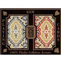 KEM Paisley Bridge, Narrow Standard (4 pips), 2-pack Set (100% műanyag kártya, dupla csomag)