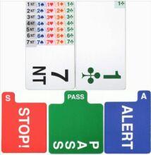 Neo licitkártya készlet (4 komplett licitkártya csomag)