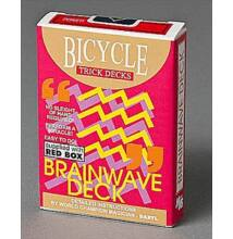 Bicycle Brainwave Deck kártya - piros, 1 csomag