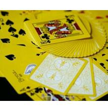 Bicycle Yellow Deck, Reversed Back kártya, 1 csomag