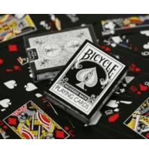Bicycle Black Deck, Reversed Back kártya, 1 csomag