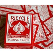 Bicycle Red Deck, Reversed Back kártya