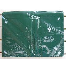 Puha bridzstok készlet, 8 db-os, előre számozott - zöld