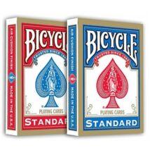 Bicycle 808 Rider Back Standard Gold kártya, dupla csomag (1 piros + 1 kék)