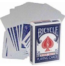 Bicycle kártya, üres képoldal, kék hátlap, 1 csomag