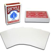 Bicycle kártya, üres képoldal, piros hátlap, 1 csomag