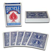 Bicycle kártya, dupla hátoldalas, kék/kék, 1 csomag
