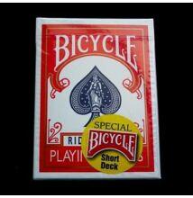 Bicycle Short Deck kártya, piros hátlappal, 1 csomag