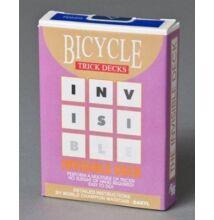 Bicycle Invisible Deck, 809 Mandolin Back - kék, 1 csomag