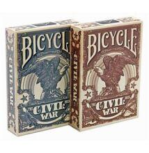 Bicycle Civil War kártya, dupla csomag