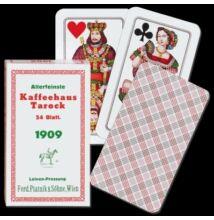 """Nagyméretű Tarokk kártya (""""Kaffeehaus Tarock"""")"""