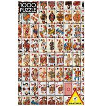 Piatnik puzzle: Kártyák - 1000 db-os