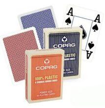 COPAG plasztik póker kártya, 4 Jumbo index, dupla csomag