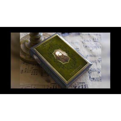 Wolfgang Amadeus Mozart kártya