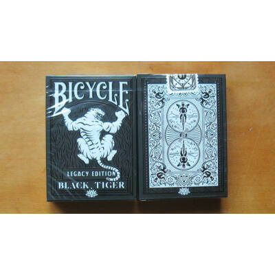 Bicycle Black Tiger Legacy Edition kártya