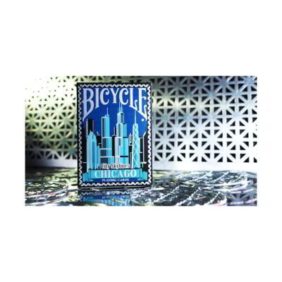 Limited Edition Bicycle City Skylines (Chicago) kártya