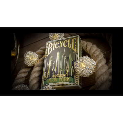 Limited Edition Bicycle City Skylines (New York) kártya