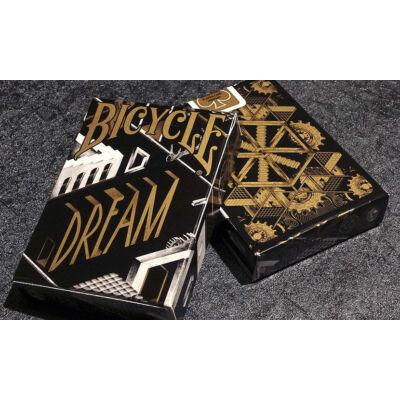 Bicycle Dream Deck - Black/Gold Edition kártya, 1 csomag