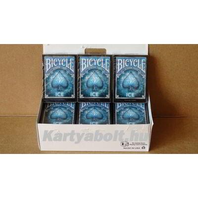 Bicycle Ice kártya, 1 karton (12 csomag)
