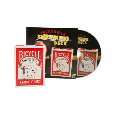 Bicycle Incredible Shrinking Deck kártya, DVD-vel