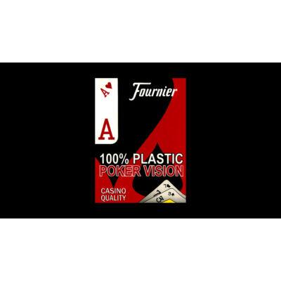 Fournier Poker Vision (Dual Index) póker kártya, 1 csomag