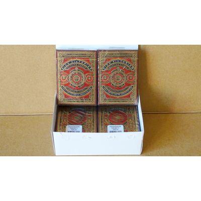 High Victorian kártya - Piros, 6-pack