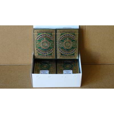 High Victorian kártya - Zöld, 6-pack