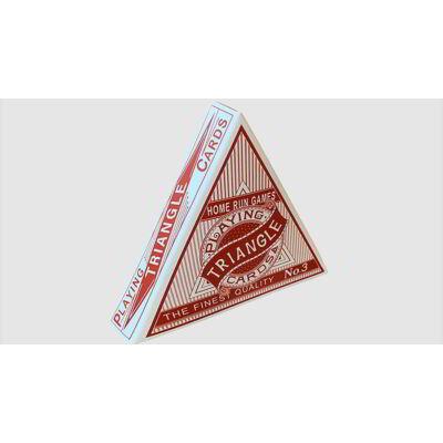 Triangle (háromszögletű) kártya - piros