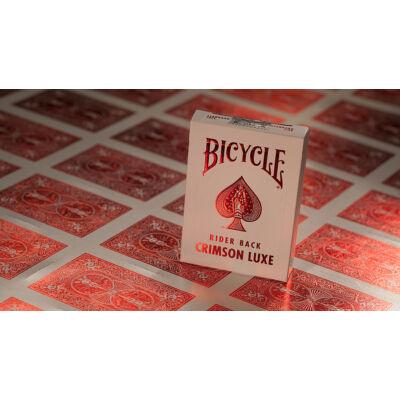 Bicycle MetalLuxe Crimson kártya, 1 csomag