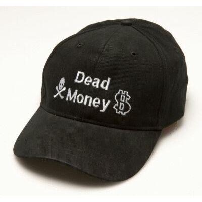 Póker sapka - Dead Money (fekete színű)