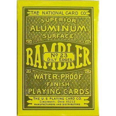 Rambler No. 23 - aranyozott szélű póker kártya, 1 cs.